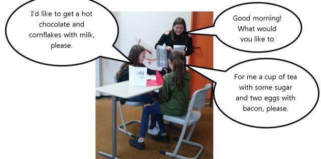 At the Classroom Café