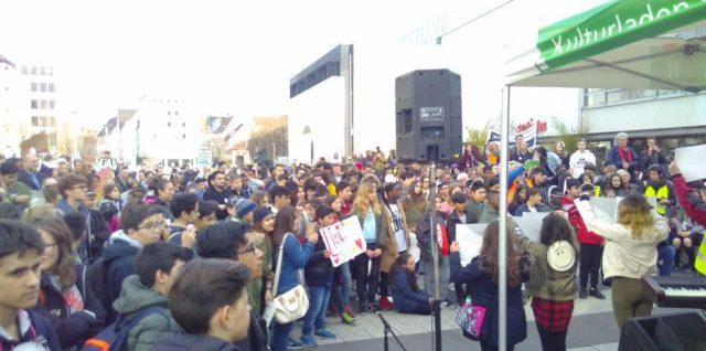 Gesicht zeigen – Demonstration für Vielfalt und Toleranz
