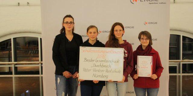 Schülerzeitungswettbewerb der mittelfränkischen Realschulen