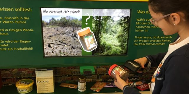 """Exkursion """"Rettet den Regenwald"""" der Klasse 5C"""